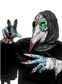 Pestdoktor Set Handschuhe und Maske aus Latex