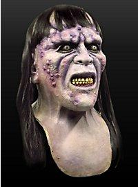 Pestzombie Maske aus Latex