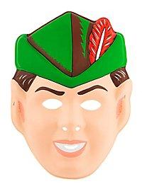 Peter Pan Kindermaske aus Kunststoff