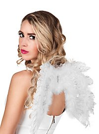Petites ailes blanc et argenté