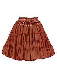 Petticoat Deluxe braun