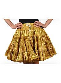 Petticoat gold-metallic