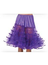 Petticoat knielang violett