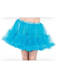 Petticoat kurz hellblau