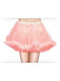 Petticoat kurz hellrosa-weiß