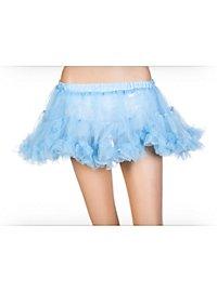 Petticoat kurz himmelblau