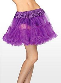 Petticoat kurz lila