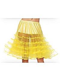 Petticoat medium long yellow
