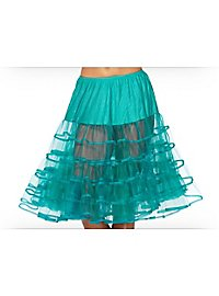 Petticoat mittellang aquamarin