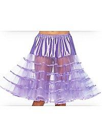 Petticoat mittellang lavendel