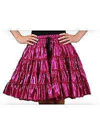 Petticoat pink & metallic mid-length