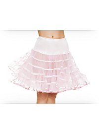 Petticoat mittellang pink