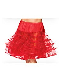 Petticoat red mid-length