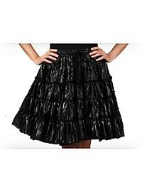 Petticoat schwarz-metallic
