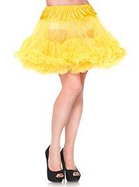 Petticoat short yellow