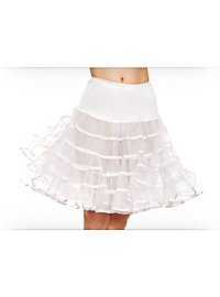 Petticoat mittellang weiß