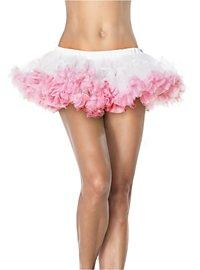 Petticoat weiß-pink mini