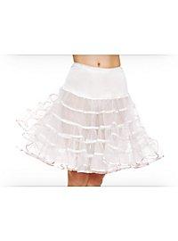 Petticoat white mid-length