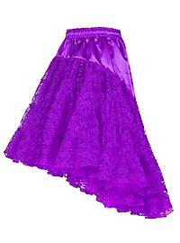 Petticoat with train purple