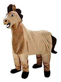 Pferd für zwei Personen Maskottchen