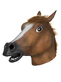 Pferdemaske braun