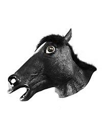 Pferdemaske schwarz