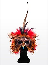 Phénix oiseau de feu Masque en cuir