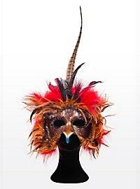 Phoenix Leather Eye Mask
