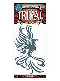 Phoenix Tribal Klebe-Tattoo