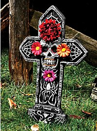 Pierre tombale Día de los Muertos araignée