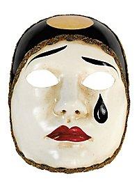 Pierrot normale bianco - masque vénitien