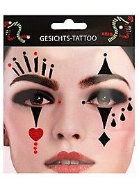 Pierrot tattoo glue