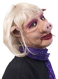 Piggy Mom Maske