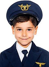 Pilot cap for children