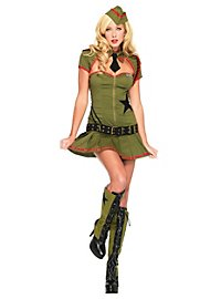 Pin-up soldat sexy Déguisement