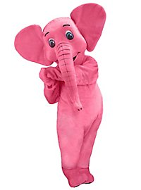 Pink Elephant Mascot