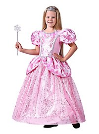 Pink glitter dress for children