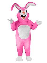 Pink Rabbit Mascot