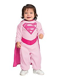 Pink Supergirl Baby Costume
