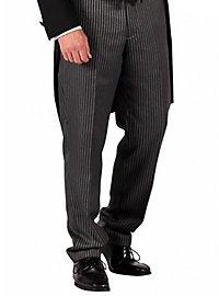 Pinstripe trousers for men