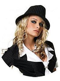 Pinstriped Fedora Costume