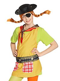 Pippi Longstocking in the South Seas Pirate Costume Accessory Set for Children
