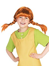Pippi Longstocking Wig for Kids