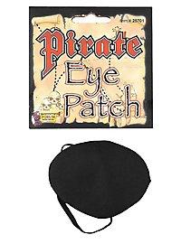 Pirat Augenklappe aus Satin