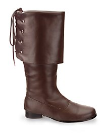 Pirate Boots Men brown