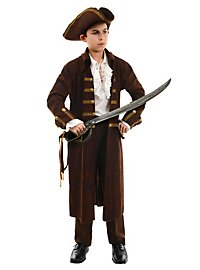 Pirate brown Kids Costume