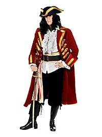 Pirate Coat Deluxe wine red