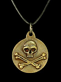 Pirate Skull Medallion