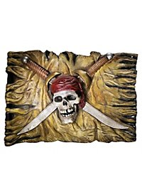 Pirate Wall Plaque