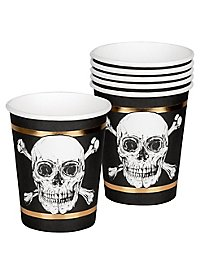 Piraten Pappbecher 6 Stück